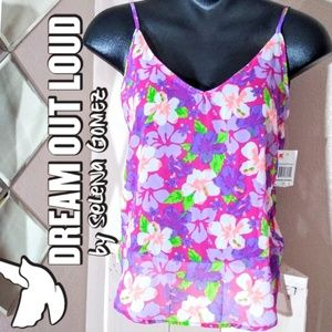 Dream Out Loud by Selena Gomez Floral Sheer Tank